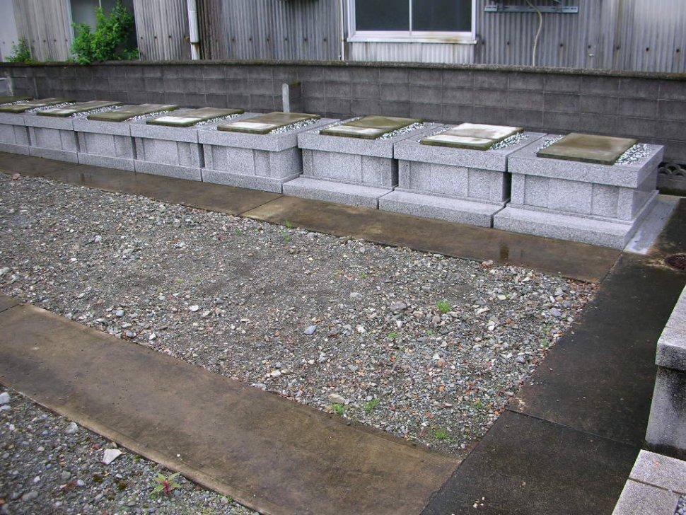正法寺 墓地