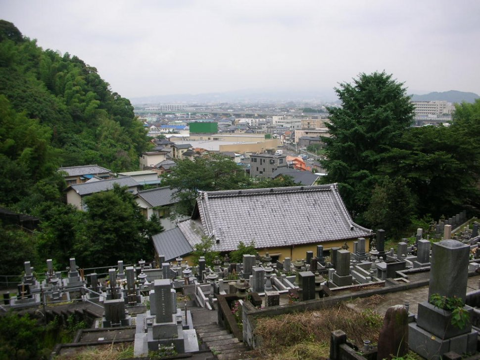 桂林寺 墓地