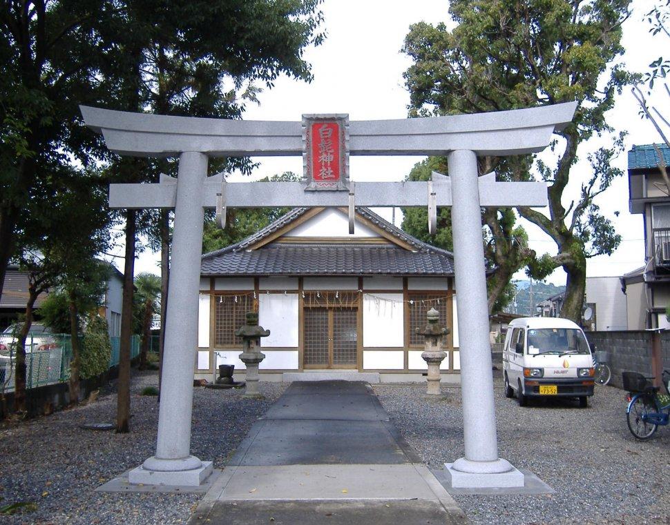 神社 鳥居 白髭神社