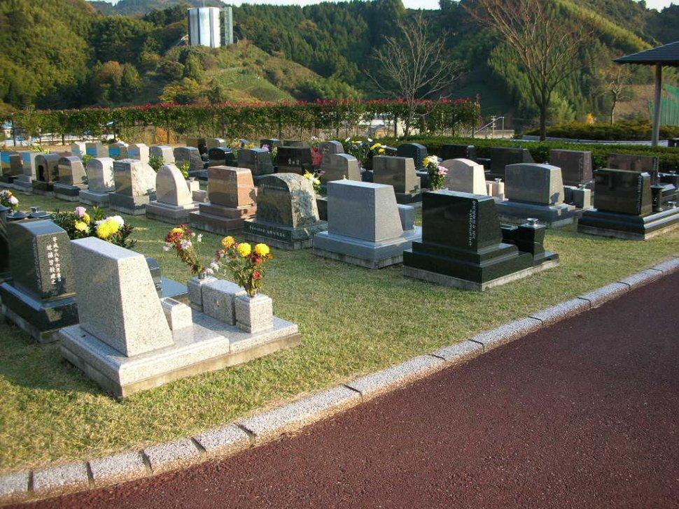 沼上霊園 芝生墓所