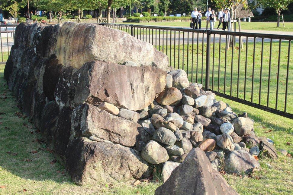 駿府城公園 石垣