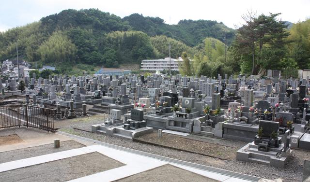 長福寺 墓地